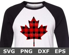 Maple Leaf SVG / Canada SVG / Canadian SVG / Canada Day Svg / Buffalo Plaid Svg / Canada Day Shirt Svg / Svg Files for Cricut / Silhouette Cricut Canada, Canada Day Shirts, Diy Shirt, Svg Files For Cricut, Shirt Ideas, Buffalo, Group, Trending Outfits, Board