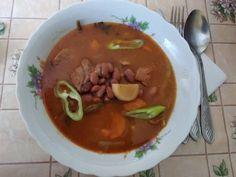 Babgulyás ahogy én készítem ! Thing 1, Thai Red Curry, Pork, Beef, Ethnic Recipes, Pork Roulade, Meat, Pigs, Ox