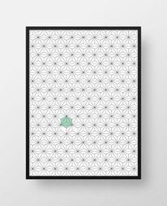 Affiche_interieur_pattern_pentagone