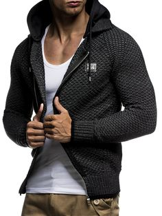 LEIF NELSON - Gilet - Homme: Amazon.fr: Vêtements et accessoires