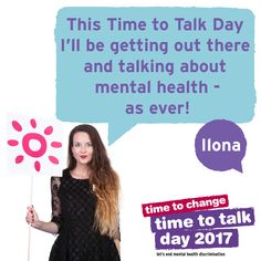 It's #timetotalk Day on 2nd Feb! Ilona has her plans. How will you get the nation talking?