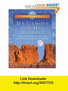 365 One-Minute Meditations (Utmost) (9781602600508) Oswald Chambers , ISBN-10: 1602600503  , ISBN-13: 978-1602600508 ,  , tutorials , pdf , ebook , torrent , downloads , rapidshare , filesonic , hotfile , megaupload , fileserve