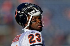 """Here are Jeff Joniak's """"Keys to the Game"""" for the Bears' trip to Jacksonville Sunday afternoon. Football Is Life, Football Baby, Devin Hester, Little League Baseball, Sports Figures, Best Player, Chicago Bears, Espn, Football Helmets"""
