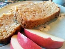 {Greek Yogurt Cinnamon Apple Bread}