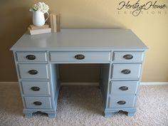 blue color for the dresser?