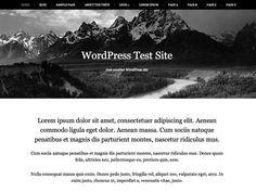 WordPress › Landscape « Free WordPress Themes
