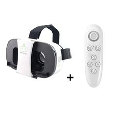 b23ff57f992 Virtual Reality 3D Glasses Google Cardboard VR Headset for 4 -6  Phone +  Remote Controller