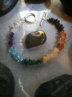 Angel Chakra Healing Bracelet by AngelTouchReiki on Etsy, $25.00