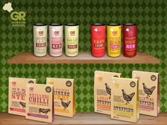 """#FSDshowcase here are @Gordon_Rhodes's""""Jolly Fine"""" products, look out for them at the show @FarmShop_Deli #JollyFineFood"""