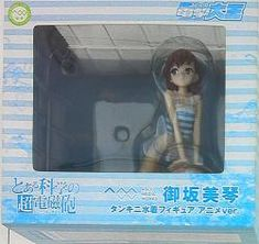 コトブキヤ/AMW とある科学の超電磁砲 御坂美琴 タンキニ水着フィギュア アニメver 1/8 PVC
