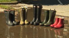 Et av de dyreste parene lekker Hunter Boots, Rubber Rain Boots, Shoes, Zapatos, Shoes Outlet, Shoe, Footwear, Hunting Boots