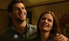 David Giuntoli as Nick Burkhardt and Bitsie Tulloch as Juliette Silverton in Grimm, Season 1, Episode 3 - A Dish Best Served Cold
