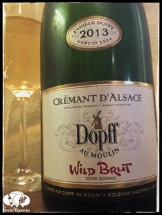 Score 90/100 Wine review, tasting notes, rating of 2013 Dopff au Moulin Crémant d'Alsace Wild Brut. Description of aroma, palate. Join the experience.