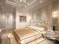 Роскошная спальня в стиле Ар-деко - Дизайн спальни