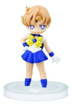 "Banpresto Sailor Moon Collectible Figure for Girls 2.4"" Sailor Uranus Figure, Volume 4"