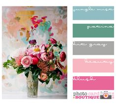 Maybe this could be a good color scheme? photo credit ★ once wed... found on Photo Card Boutique blog