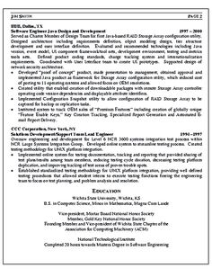 Software Engineer Resume Includes Many Things About Your Skills, Education,  Awards And Also What