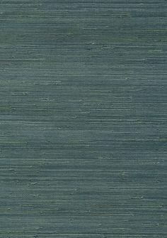 Teal Toned Grasscloth Wallpaper 5365432