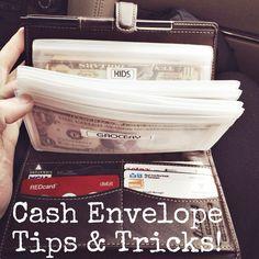iGriza: Budgeting for 2014 : Beginning The Cash Envelopes