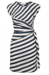 Louche Badger Stripe Dress @ joythestore.com