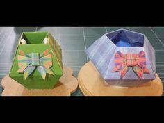 156.사각.오각조립상자.종이접기.종이공예.origami.인형.컨츄리인형.퀼트
