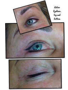 Semi Permanent Make up - semi permanent latino eyeliner