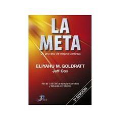 La Meta: Un Proceso De Mejora Continua. Este libro marcó hasta mi forma de conducir. ¿Qué quiero decir con esto? Échale una leída y lo comprenderás.