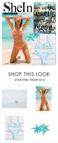 """blue sea bikini"" by timastyle ❤ liked on Polyvore featuring She Hit Pause Studios and Billabong"
