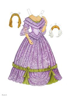 Paper Dolls~Godey's Early Victorian Fashions - Bonnie Jones - Picasa Web Albums