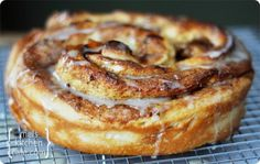 Giant Cinnamon Rolls (with step-by-step photos) via Mel's Kitchen Cafe