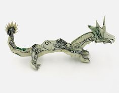 Amazing one dollar bill origami!