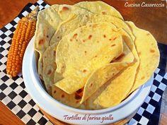 Yellow flour tortillas – World Food Mexican Food Recipes, Snack Recipes, Cooking Recipes, Ethnic Recipes, Chile Relleno, Polenta, Farina Recipe, Empanadas, Indian
