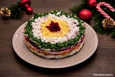 SALATE FESTIVE PENTRU SARBATORI | Diva in bucatarie Spice Blends, Starters, Panna Cotta, Dips, Cheesecake, Veggies, Appetizers, Food And Drink, Menu