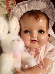 Vintage Chubby Composition Baby Doll
