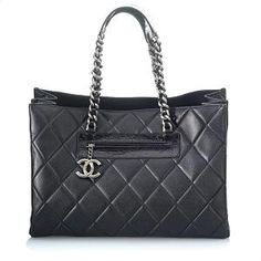 Chanel Large Quilted Tote