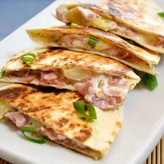 Hawaiian Ham Quesadillas                                                                                                                                                                                 More