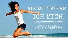 Wie motiviere ich mich auch wenn mir nicht danach ist? Die 7 besten Motivationstipps Life Hacks, Life Tips, Depression, Promotion, Advice, How To Get, Workout, Words, Fitness