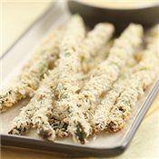 Panko-Crusted Asparagus Spears, Recipe