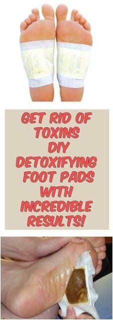 Get Rid Of Toxins – DIY Detoxifying Foot Pads With Incredible Results!
