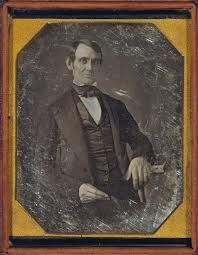 Abraham Lincoln, Congressman-elect from Illinois. Three-quarter length portrait, seated, facing front earliest known photograph of Lincoln) Abraham Lincoln, Mary Todd Lincoln, Vintage Photographs, Vintage Photos, Antique Photos, Invention Of Photography, Louis Daguerre, Daguerreotype, Interesting History