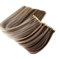 Luxury Quality Tape Hair Extensions Soft Hair, Pastel Hair, Weave Hairstyles, Pretty Hairstyles, Hair Color Balayage, Bayalage, Short Thin Hair, Tape In Hair Extensions, Color Melting