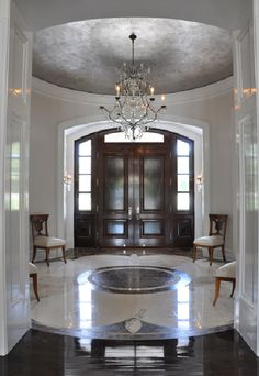 Captivating Uncluttered Beauty. Foyer DesignHouse ...