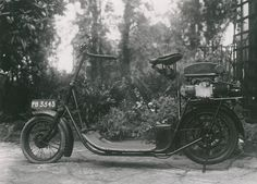 ABC Skootamota motor scooter, c.1920, Science Museum collection by Science Museum London, via Flickr