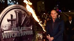 Vin Diesel, Michael Caine and Rose Leslie from Game of Thrones on the red carpet for The Last Witch Hunter