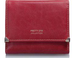 Dámska kožená peňaženka so srdiečkovým kovaním (4)