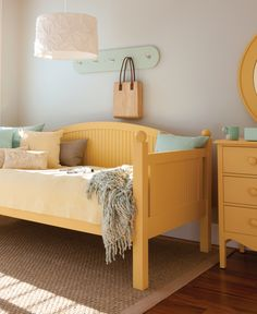 Painted Solid Wood Beds | Cottage and Coastal Living Style | Maine Cottage #colorfulfurniture