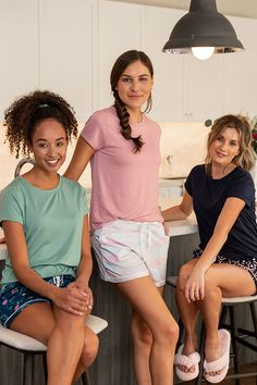 DM Merchandising's Hello Mello: Lounge Shorts -Soft drawstring shorts with side pockets and subtle piping. Lounge Shorts, Pockets, Fashion, Moda, Fashion Styles, Fashion Illustrations