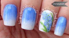ChristabellNails Hyacinth Floral Nail Art Tutorial