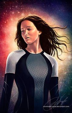 Hunger Games Fan Art / Catching Fire / Katniss
