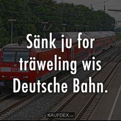 Sänk ju for träweling wis Deutsche Bahn.